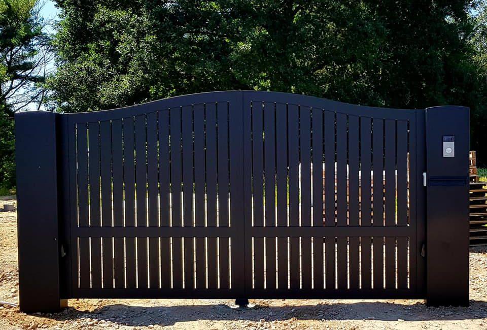 Brievenbusconsle - poort - Brievenbusconsole